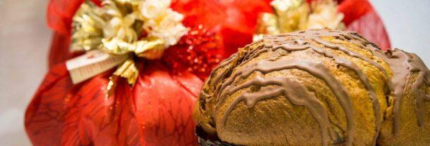 panettone noci e cioccolato