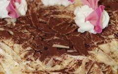 torta chantilly al cioccolato